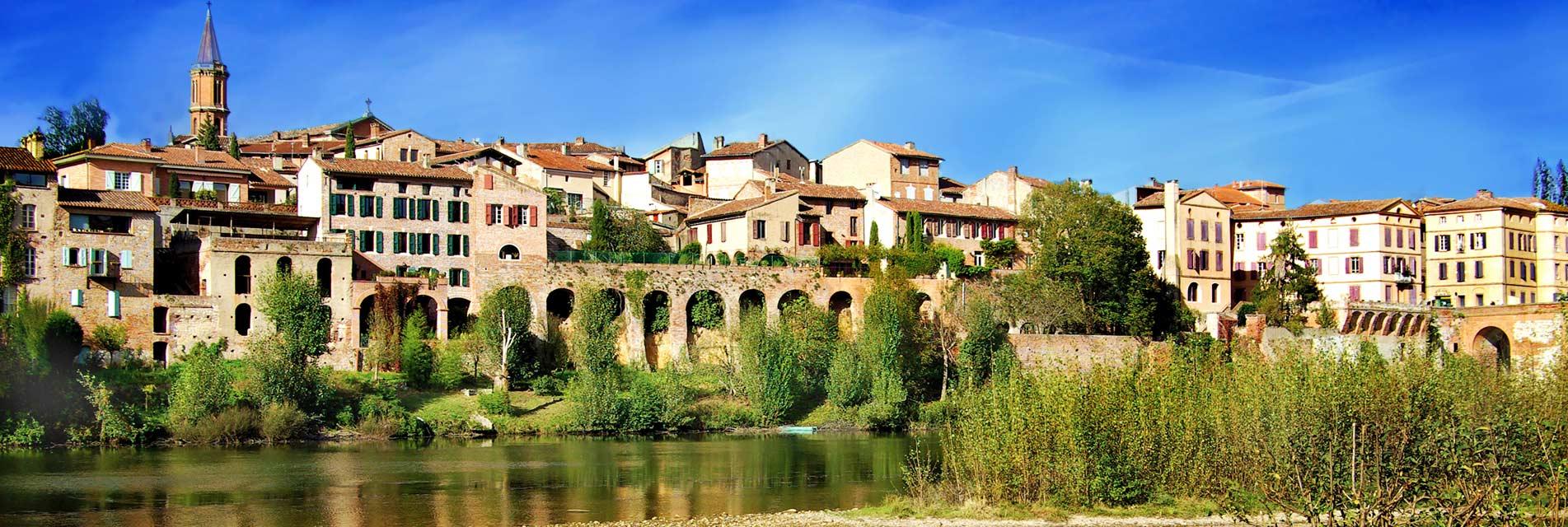 Le pays de l'Albigeois et ses bastides – Tarn – Occitanie