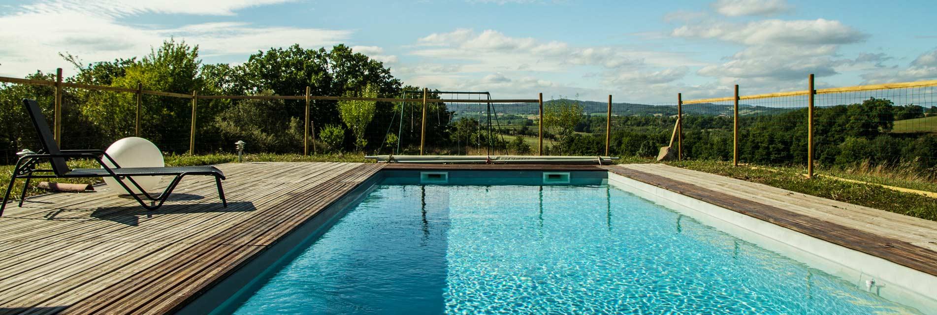 Nos locations de vacances avec piscine dans le Tarn en Occitanie