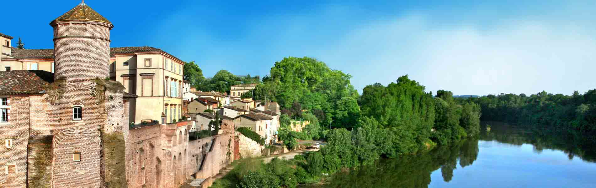 Ville de Gaillac dans le Tarn