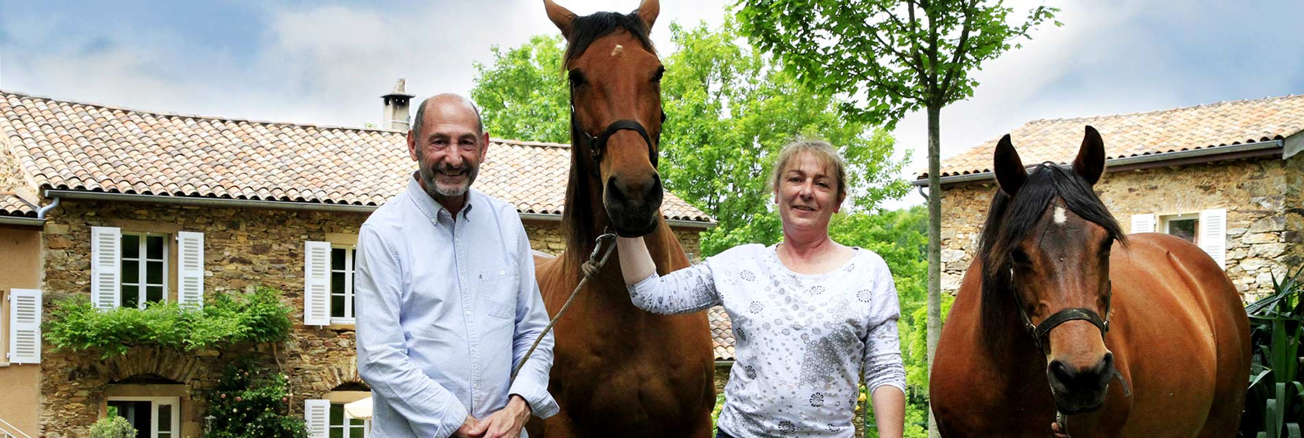 Vos vacances avec votre cheval dans le Tarn en Occitanie