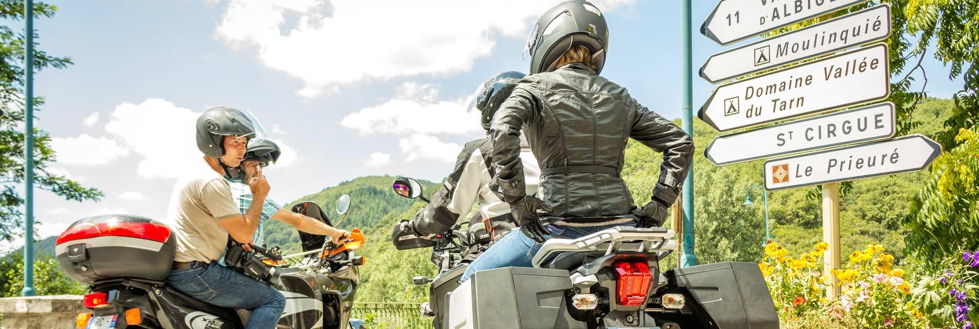 Nos séjours et week-ends à moto dans le Tarn en Occitanie