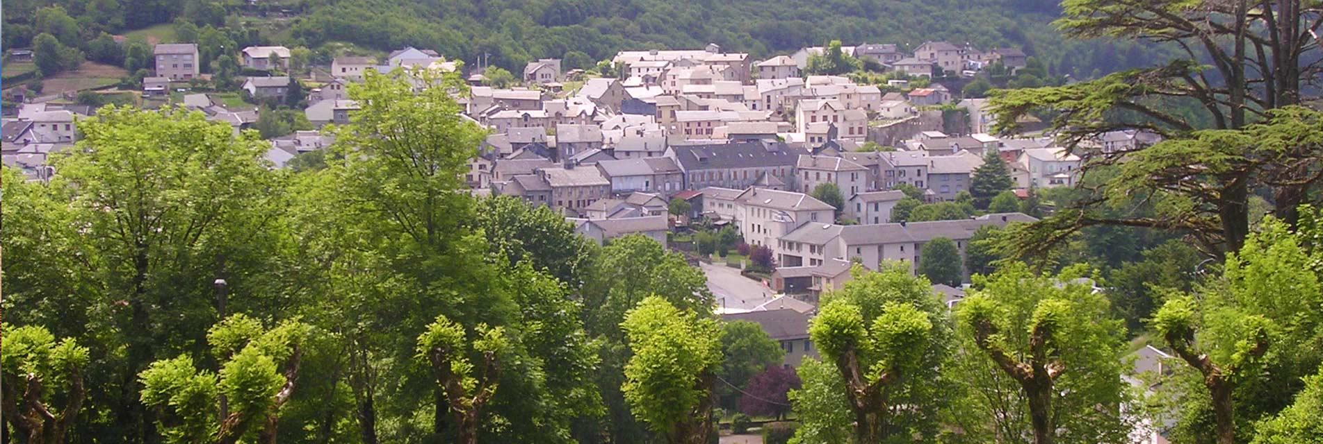 Ville de Lacaune dans le Tarn