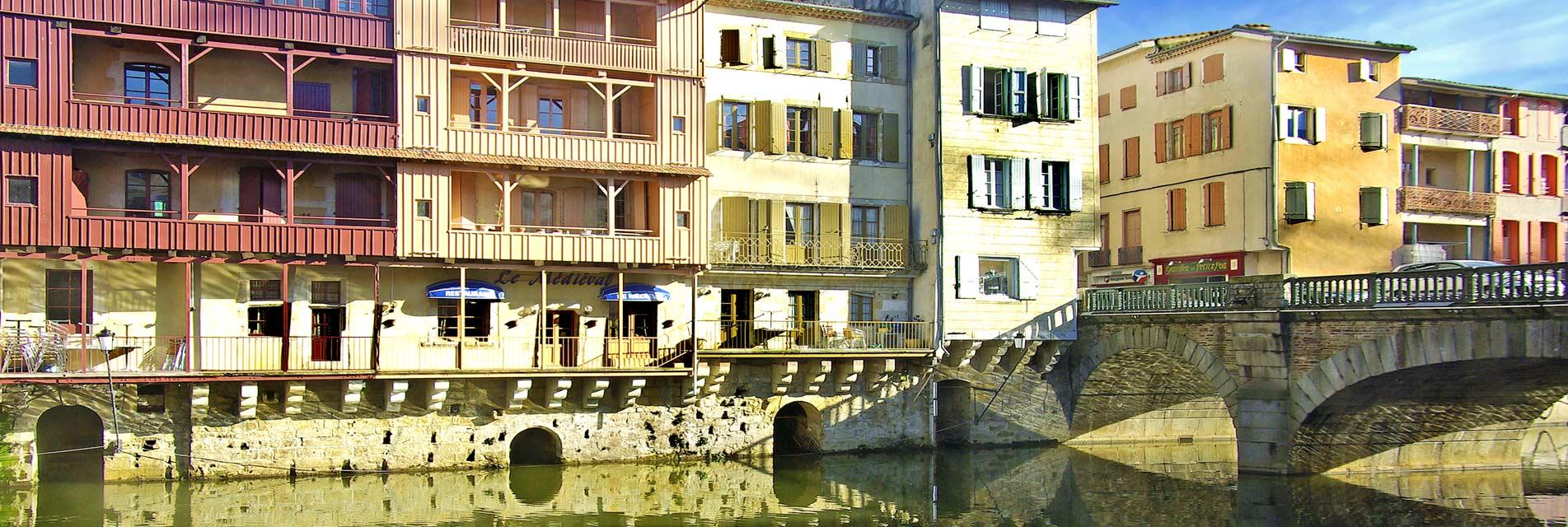 Ville de Castres dans le Tarn