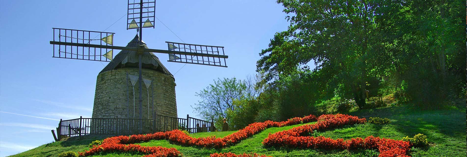Ville de Lautrec dans le Tarn