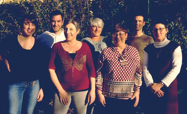 Equipe de l'Association Tarnaise de Tourisme en Espace Rural