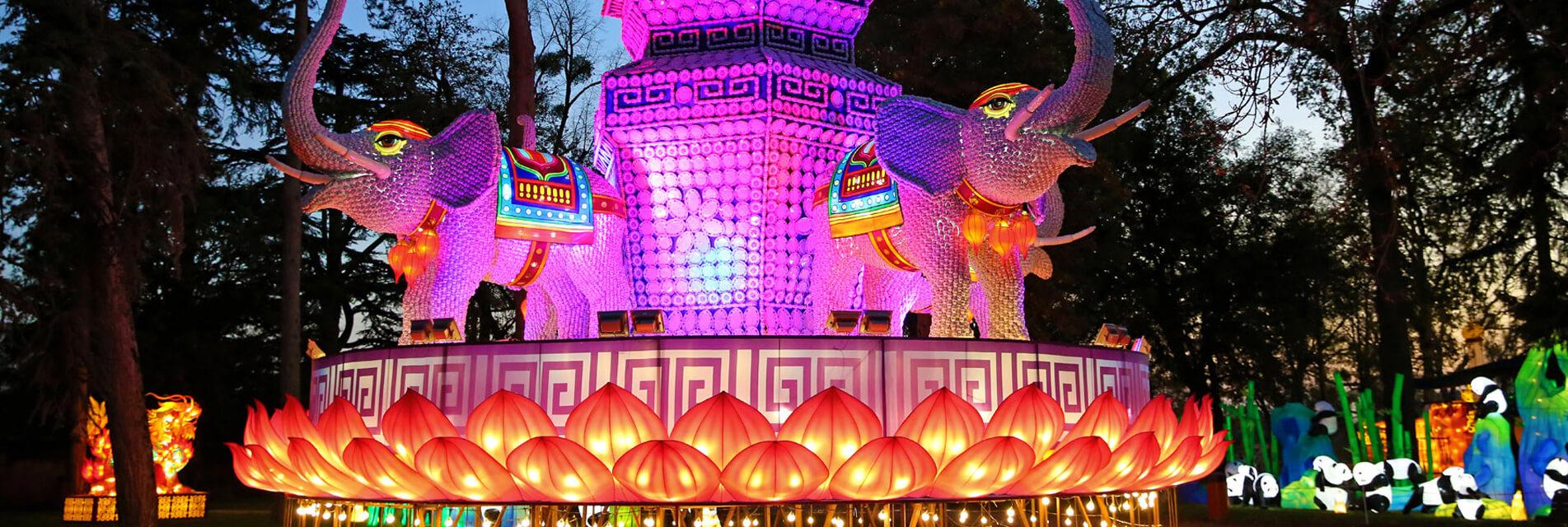 Locations de vacances et billetterie pour le festival des lanternes