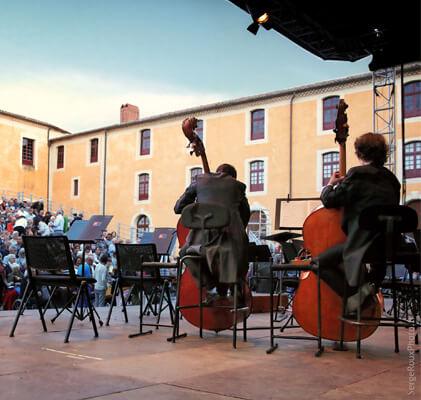 Festival Musiques des lumières à Sorèze