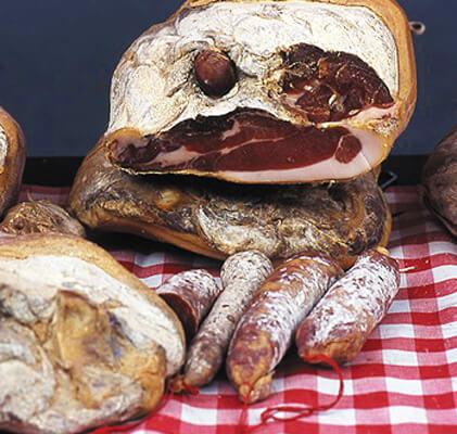 Jambon de Lacaune dans le Tarn en Occitanie