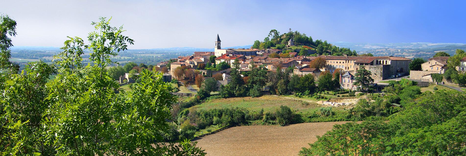 Séjours et Week-ends à Lautrec dans le Tarn en Occitanie