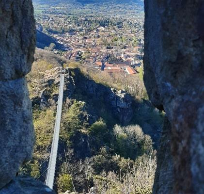 Unique en Occitanie, la passerelle de Mazamet